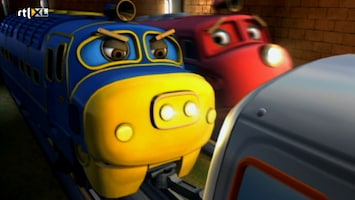 Chuggington Medaille Race - Noodgeval Jimmy