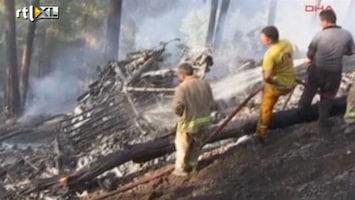 RTL Nieuws Doden bij helikoptercrash Turkse bosbranden