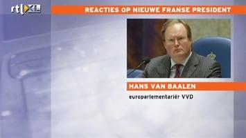 RTL Nieuws Van Baalen: 'Beleidsvrijheid Hollande is beperkt'