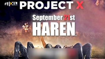 RTL Nieuws Spanning in Haren door Facebookfeestje