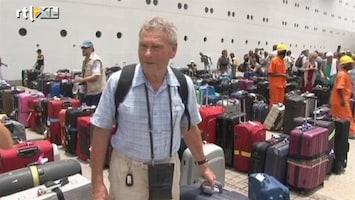RTL Nieuws Passagiers Costa Allegra aan wal