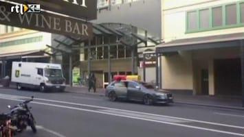 RTL Nieuws Getuige filmt brute overval op geldwagen in Sydney