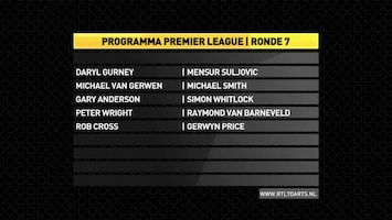 RTL 7 Darts: Premier League Afl. 7