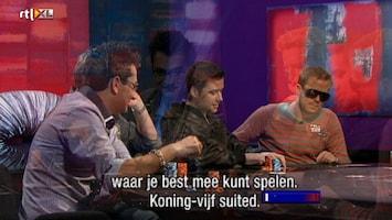 Rtl Poker: European Poker Tour - Uitzending van 29-11-2010