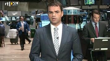 RTL Nieuws 'Redelijk vrolijke gezichten' op de beurs