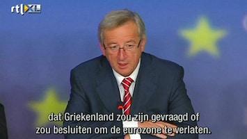 RTL Nieuws Weer uitstel van betaling voor Grieken