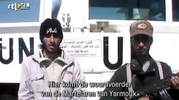 RTL Nieuws Syrische rebellen gijzelen 20 blauwhelmen