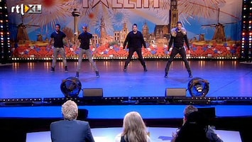 Holland's Got Talent Little Chucky Crew (dans)