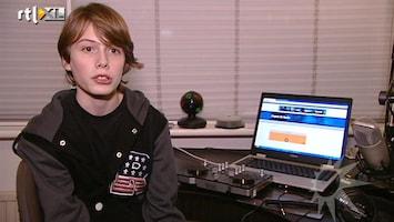 RTL Boulevard 13-jarige Joris Klokkers gedaagd door Talpa