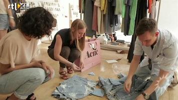 RTL Boulevard Discussie onbetaalde stagiairs op fashion week
