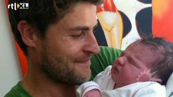 RTL Boulevard Koert-Jan de Bruijn geeft geboorte dochter aan