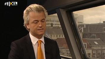 RTL Nieuws Wilders in gesprek met Frits Wester