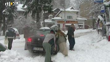 RTL Nieuws Winters weer zorgt voor problemen in Zuidoost-Europa