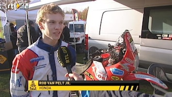 RTL GP: Dakar Pre-proloog Interview Rob van Pelt junior