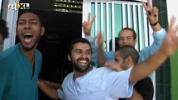 RTL Nieuws Zawiya feest na overwinning Libisch verzet