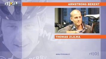 RTL Nieuws 'Armstrong heeft kanker bespreekbaar gemaakt'
