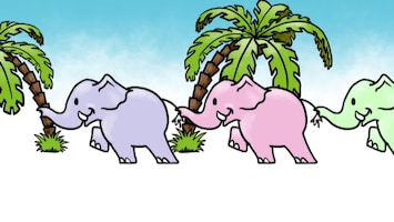 2 Kleine Kleutertjes 10 olifantjes