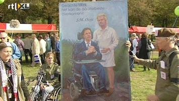 RTL Nieuws Protest in Den Haag tegen bezuinigingen