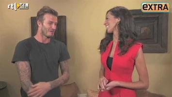 RTL Boulevard David Beckham over dochtertje Harper