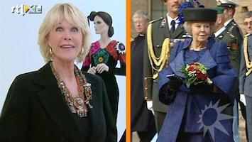RTL Boulevard Sheila de Vries over koningin