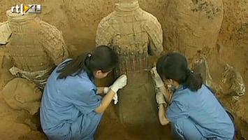 RTL Nieuws Meer soldaten Chinees Terracottaleger opgegraven