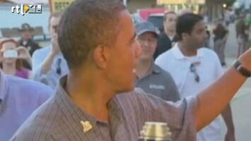 Editie NL Obama geeft ff een rondje