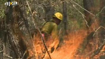 RTL Nieuws Vier doden bij bosbranden Texas