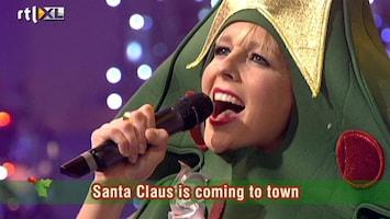 Carlo & Irene: Life 4 You Chantal en Carlo zingen Santa Claus Is Coming To Town