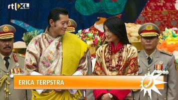 RTL Boulevard Koning van Bhutan trouwt