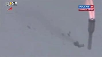 RTL Nieuws Raket crasht live op Russische TV