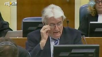 RTL Nieuws Karadzic ziet zichzelf als vredestichter