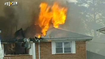 RTL Nieuws F18 stort neer op woonwijk Virginia