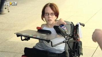 RTL Nieuws 16-jarig meisje zonder ledematen zoekt geld voor film