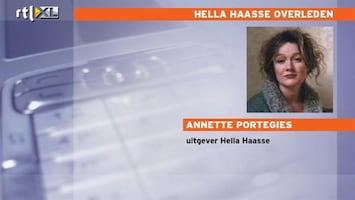 RTL Nieuws Haasse 'zeer aimabel en lief mens'