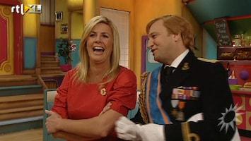RTL Boulevard Carlo en Irene over Beatrix in TV Kantine