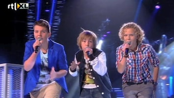 The Voice Kids Jesse VS Piet VS Finn - One Thing