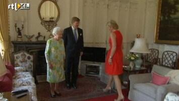RTL Nieuws Koning bij queen Elizabeth thuis op bezoek