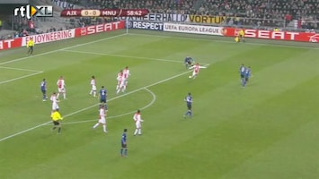 Rtl Voetbal: Uefa Cup - Ajax - Manchester United