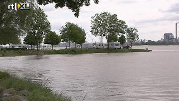 RTL Nieuws Camping ontruimd om hoog water