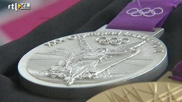 RTL Nieuws Medailles Londen 2012 groter en zwaarder