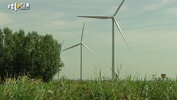 RTL Nieuws Meer windenergie door drijvende windmolens