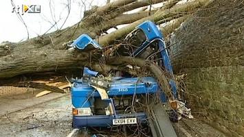 RTL Nieuws Veel schade door storm