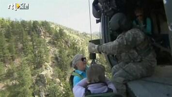 RTL Nieuws Nog honderden vermisten na noodweer Colorado