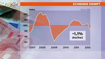 RTL Nieuws Nederlandse economie krimpt hard