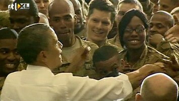 RTL Nieuws Obama op verrassingsbezoek in Afghanistan