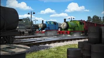 Thomas De Stoomlocomotief - De Kleine Locomotief Die Vooruit Racete
