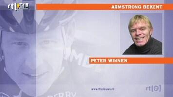 RTL Nieuws Oud-wielrenners: 'Armstrong heeft psychopatische trekjes'