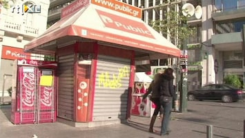 RTL Nieuws Griekenland twee dagen plat door staking