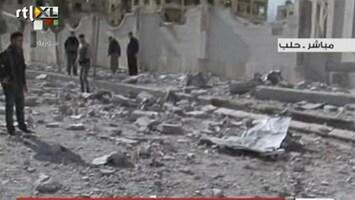 RTL Nieuws Explosies in Syrische stad Aleppo