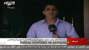RTL Nieuws Onrust Syrië door ogen staatstelevisie